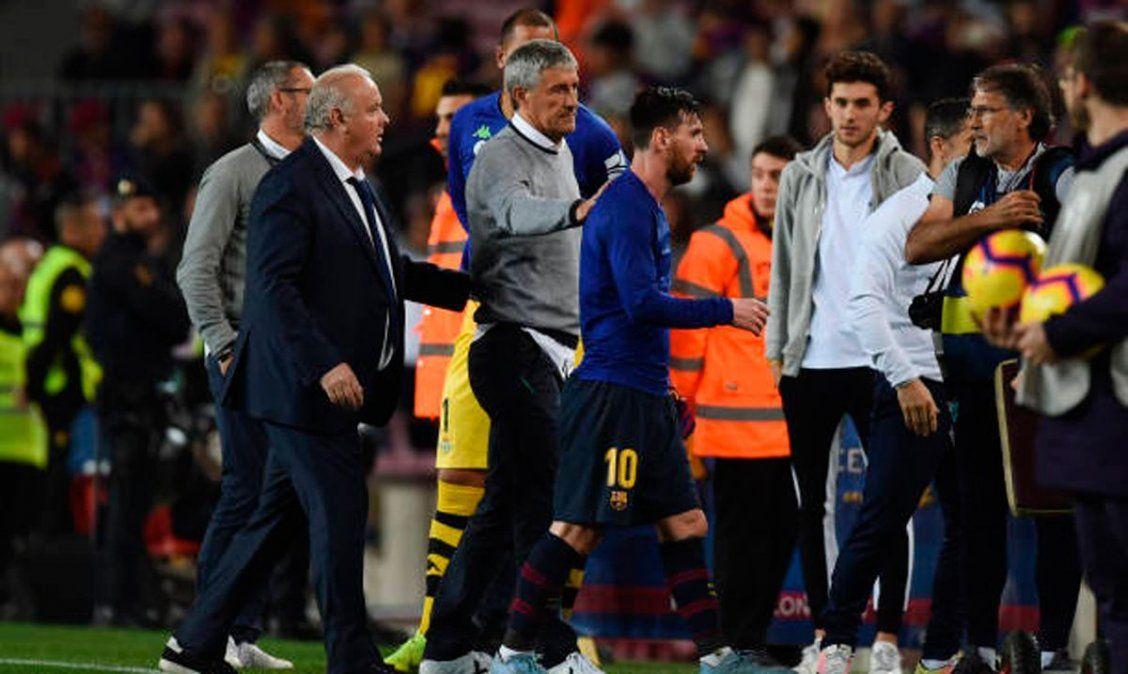 El entrenador del Barcelona y el futuro de Lionel Messi