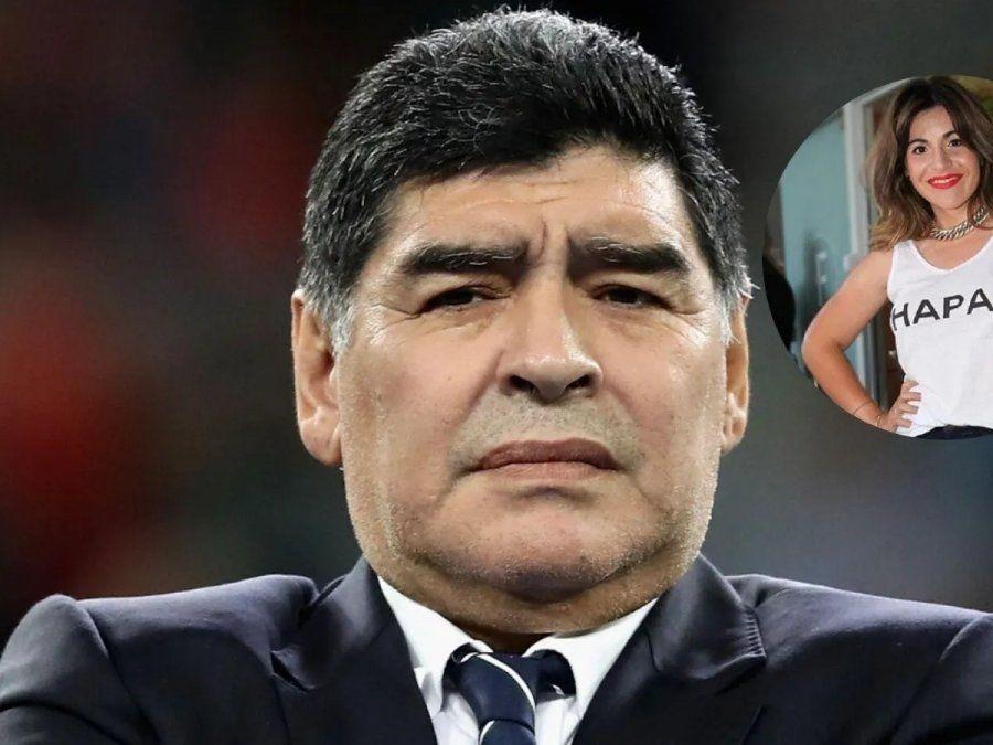 Nuevo audio de Diego Maradona contra Dalma y Gianinna
