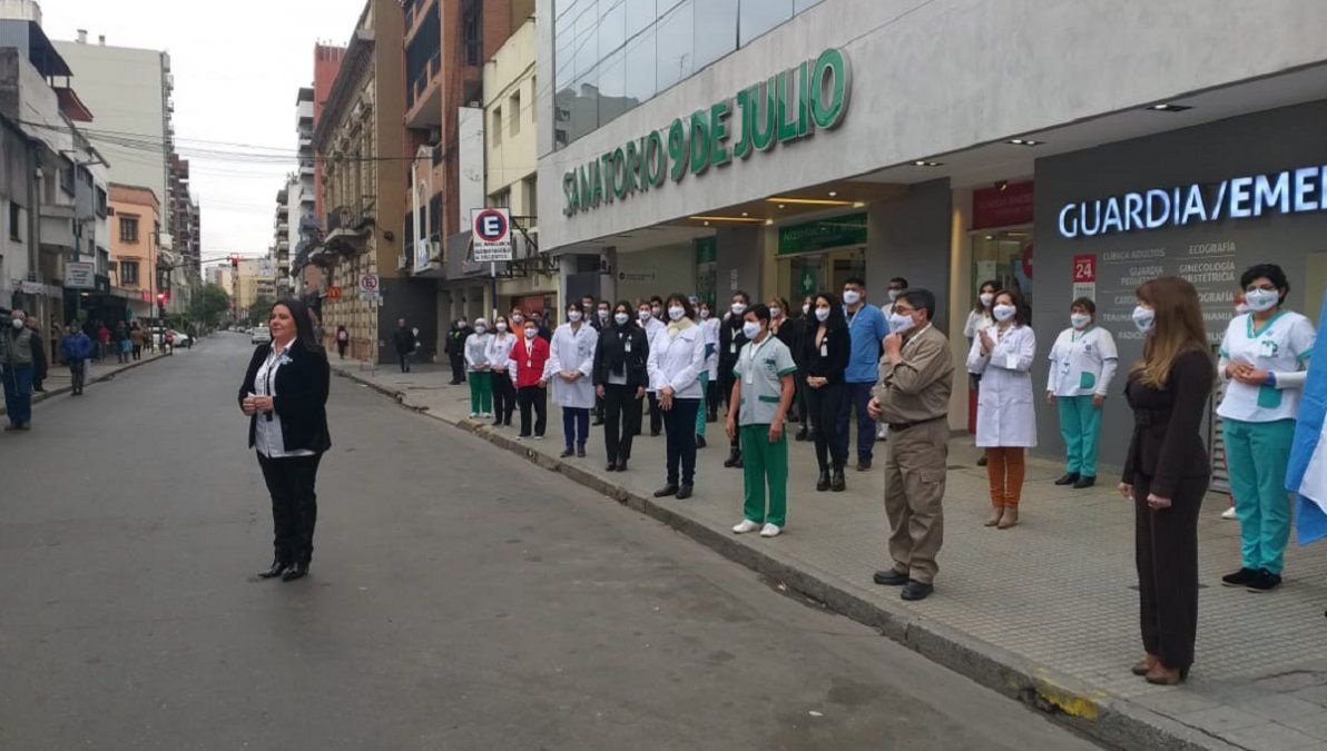 Coronavirus: Estamos en la primera línea de combate y seguiremos estando