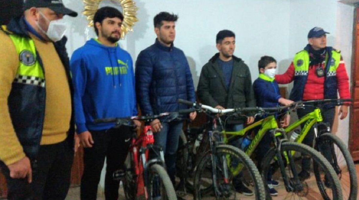 Yerba Buena: jóvenes asaltados recuperaron sus bicicletas