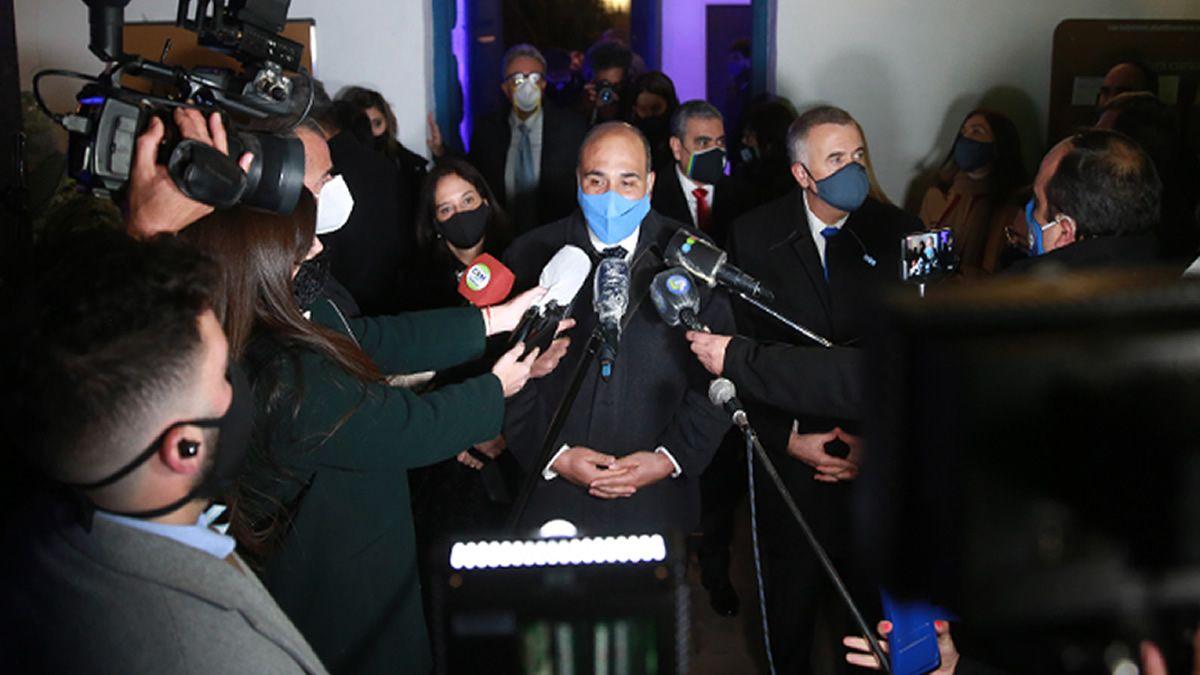 Manzur remarcó la ayuda del Gobierno Nacional en tiempos de pandemia
