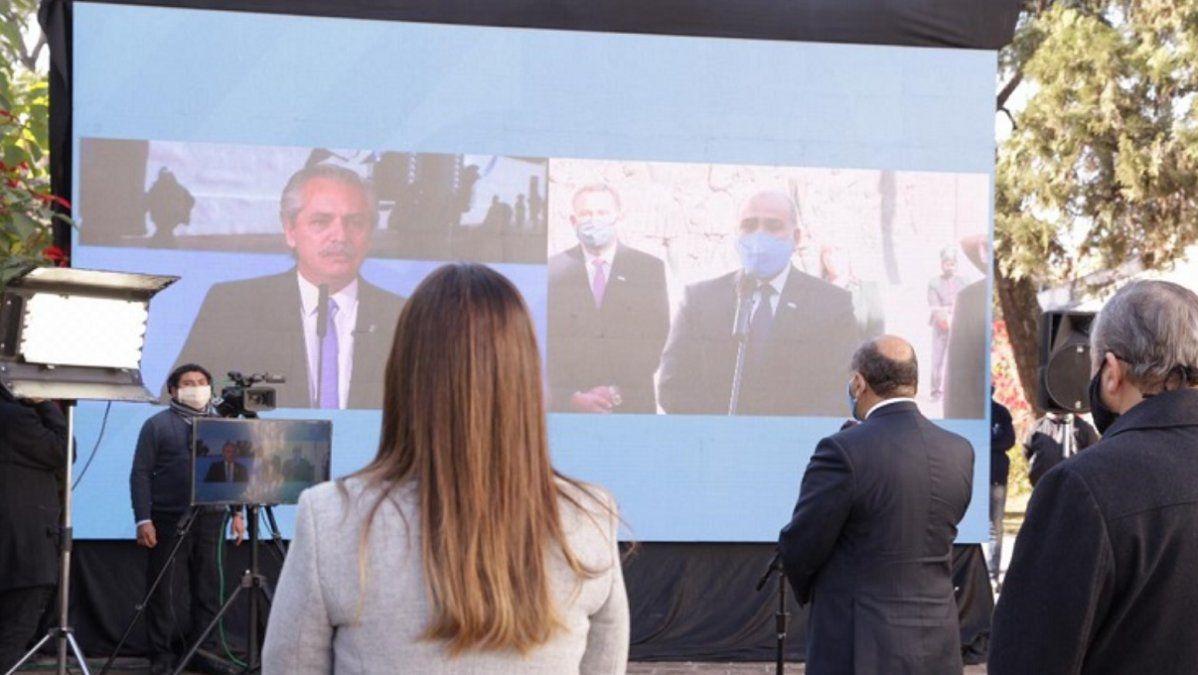 Manzur y Alberto Fernández celebraron el Día de la Independencia