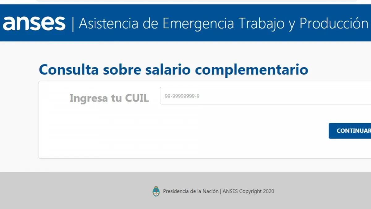 Programa de Asistencia de Emergencia al Trabajo y la Producción (ATP)