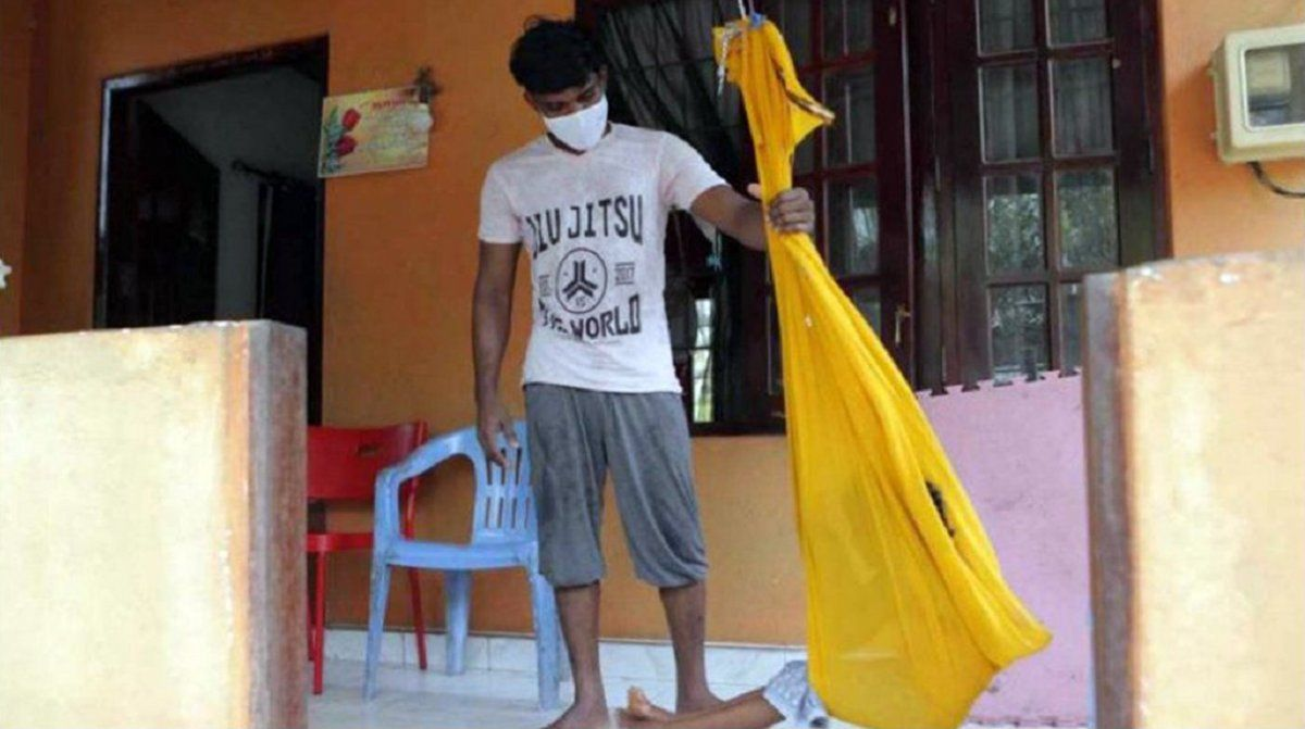 Sri Lanka: el paciente 206 fue acusado de contagiar a 1100 personas