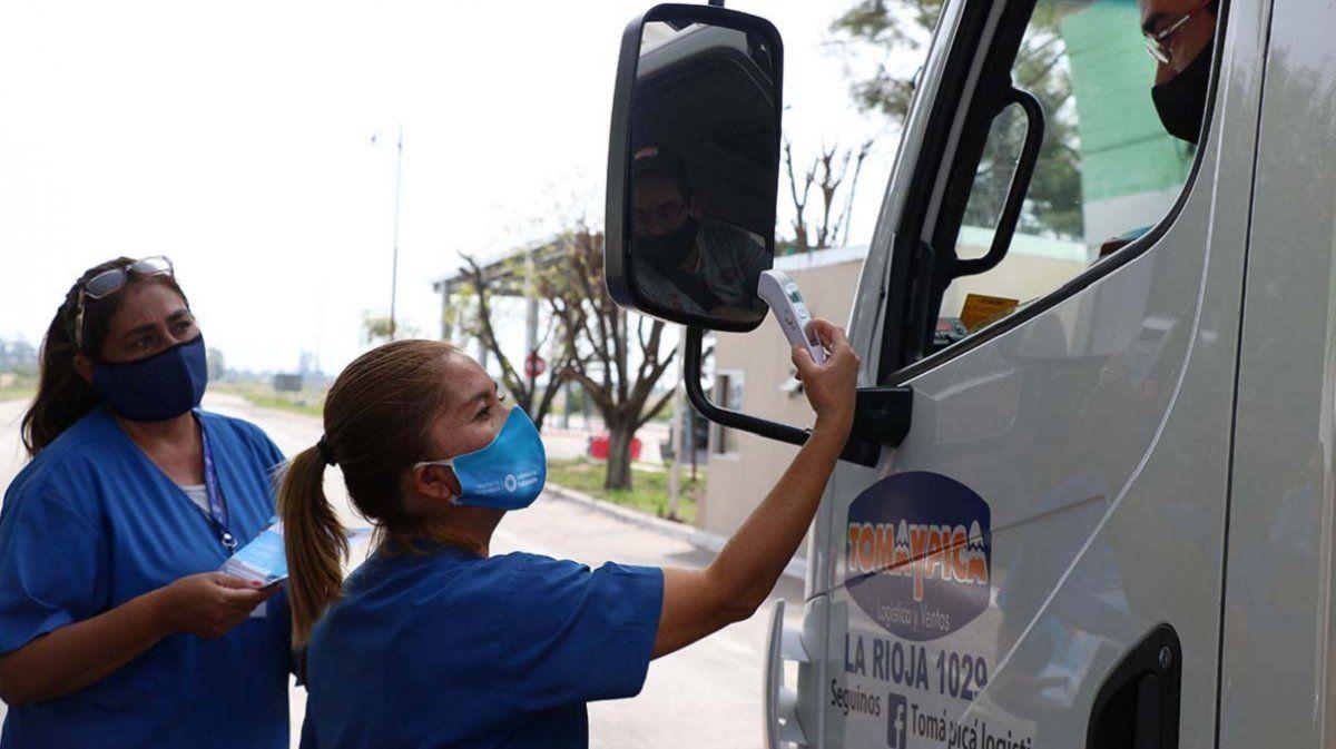 Salud y Seguridad refuerzan la vigilancia a camioneros