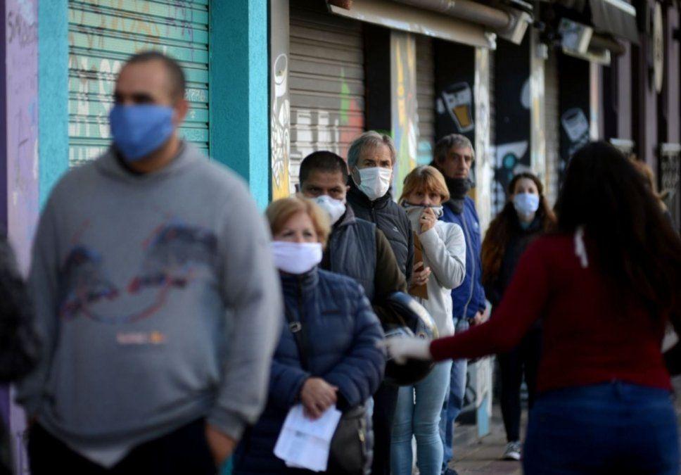 Coronavirus en Argentina: 5.241 nuevos casos y 53 muertes