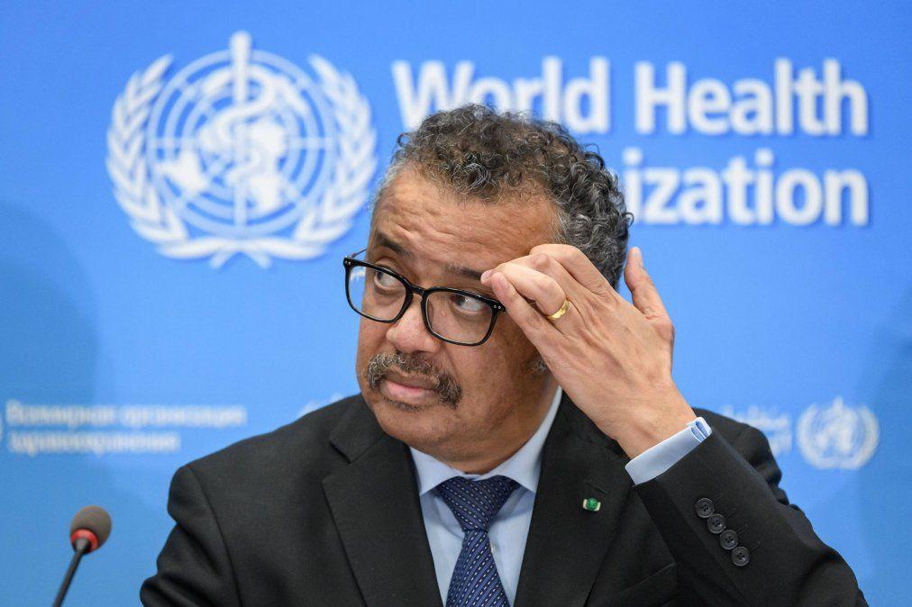 La OMS indicó que no tiene a la vista el fin de la pandemia