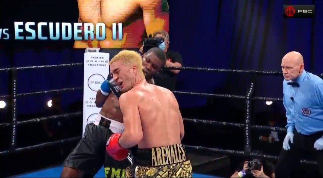Boxeo: Joseph George noqueó a Marcos Escudero