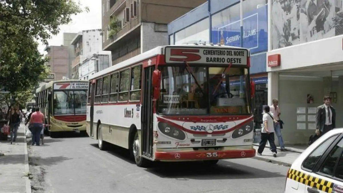 Transporte: analizan cambiar por un sistema similar al de Salta