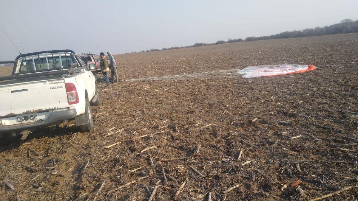 Córdoba: se estrelló un avión de la Fuerza Aérea y murió el piloto