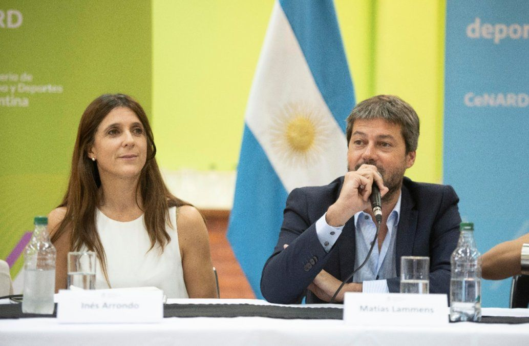 Inés Arrondo fue jugadora de Las Leonas y ahora ocupa un cargo público.