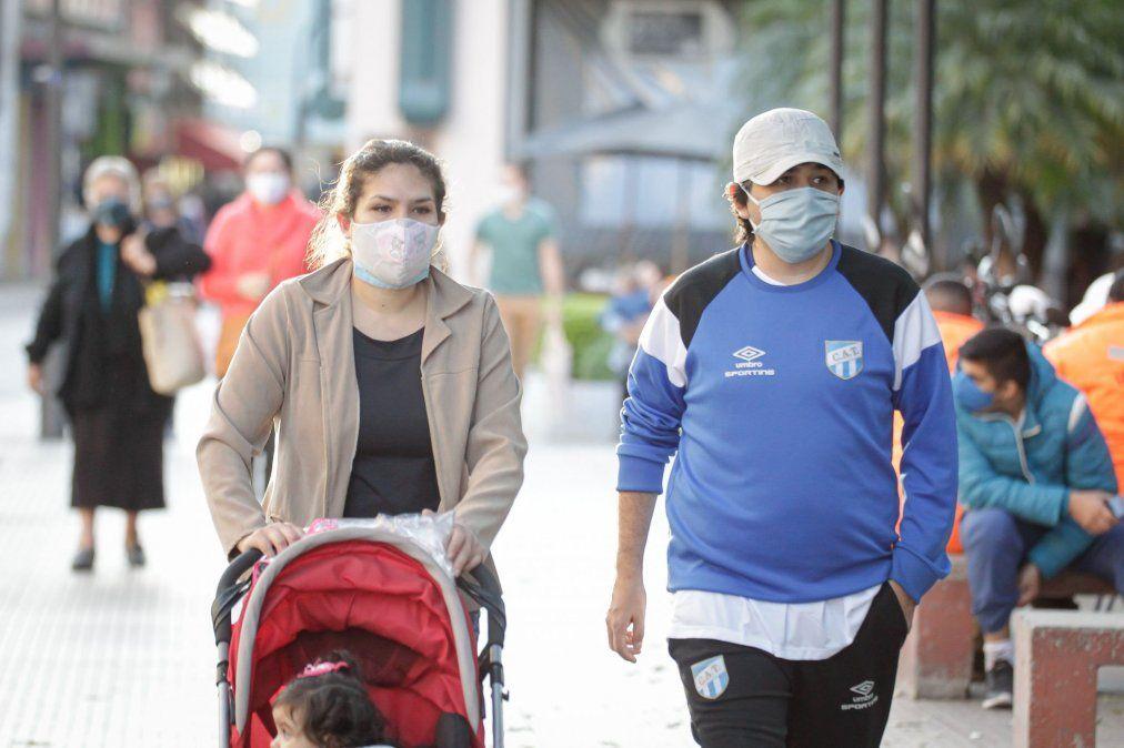 Bajan los contagios, Tucumán cierra el día con 6 infectados