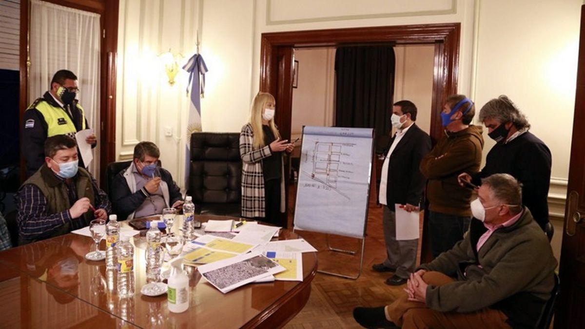 Concepción: el COE dispuso el cierre de un barrio