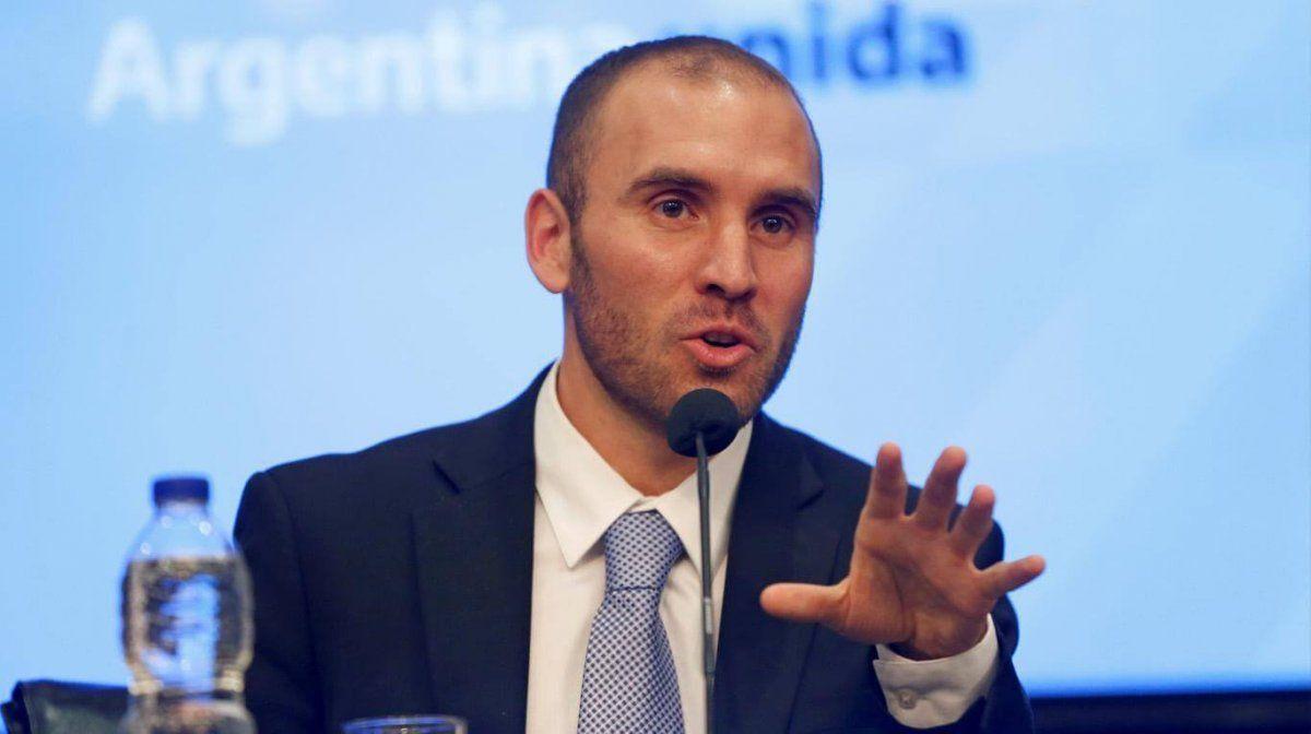 Martín Guzmán llamó a tranquilizar la economía