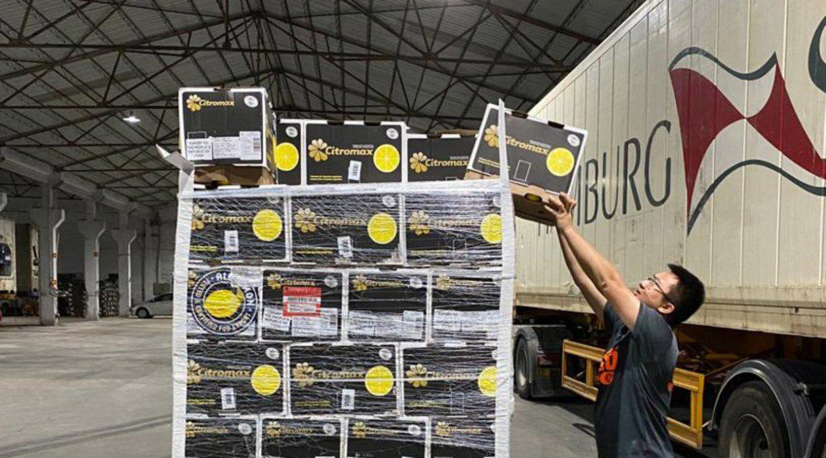 El limón tucumano llegó a China y genera expectativas