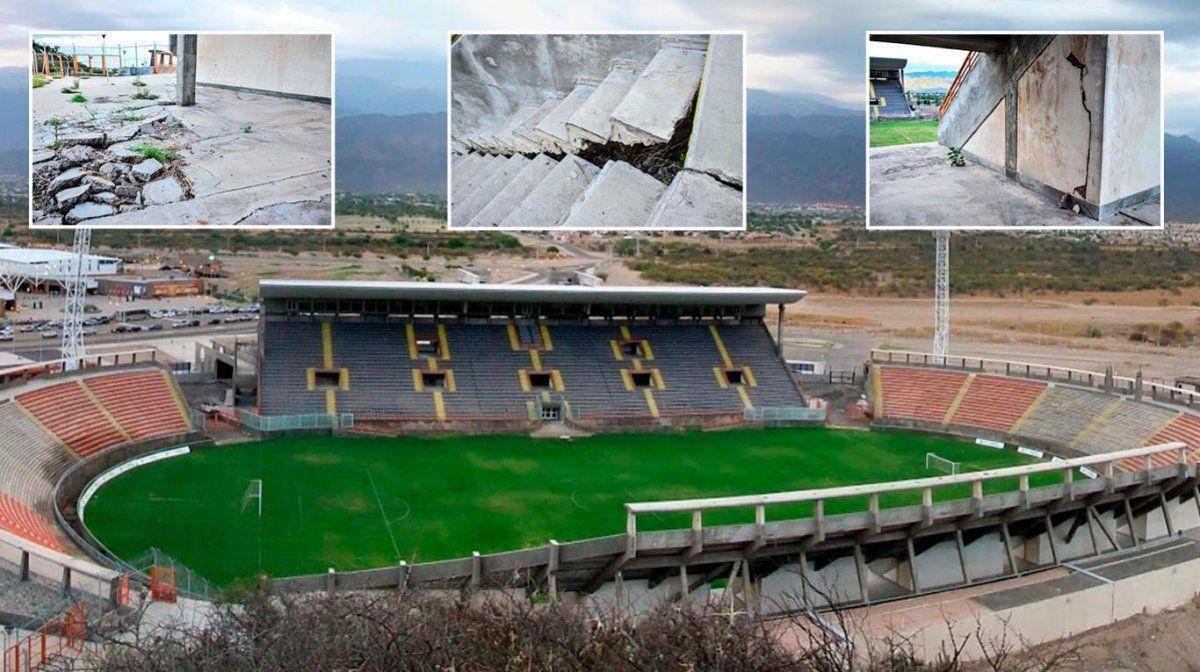 Catamarca: comenzaron las obras en el estadio Bicentenario