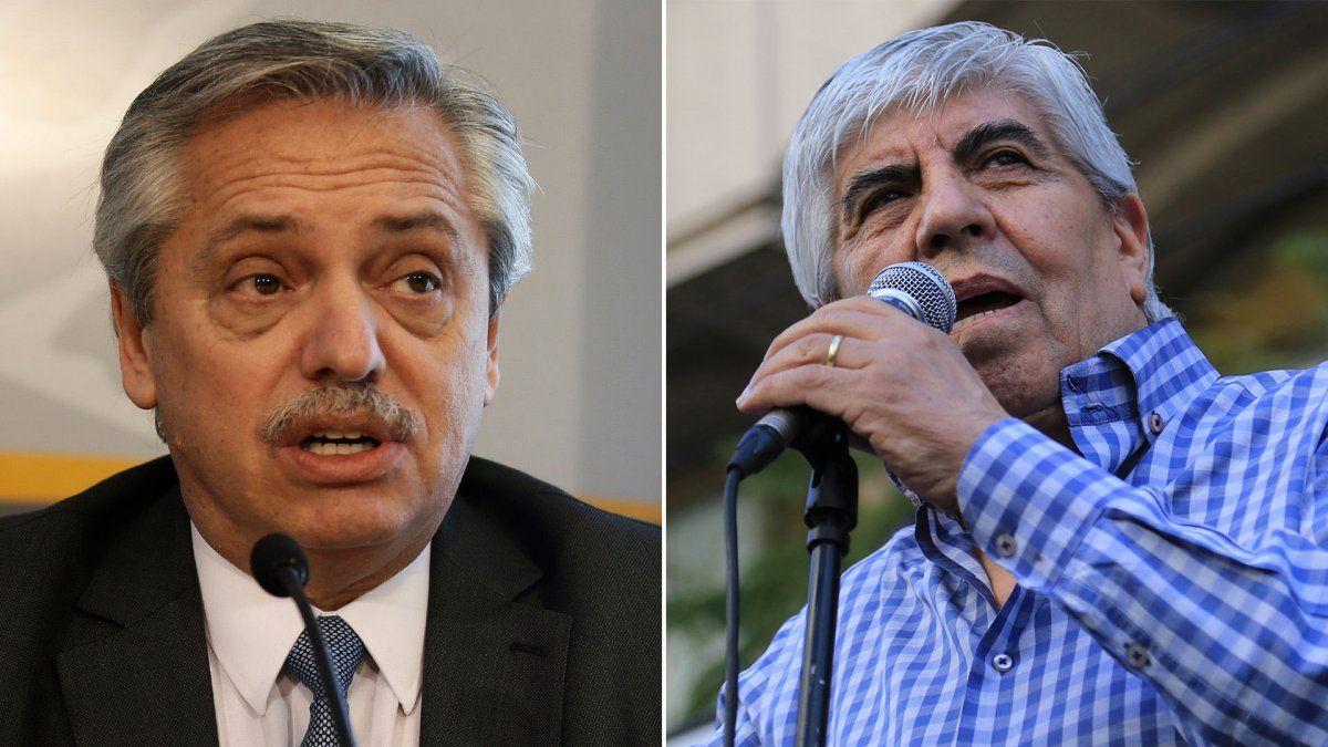 Alberto Fernández cerrará el año junto a Hugo Moyano