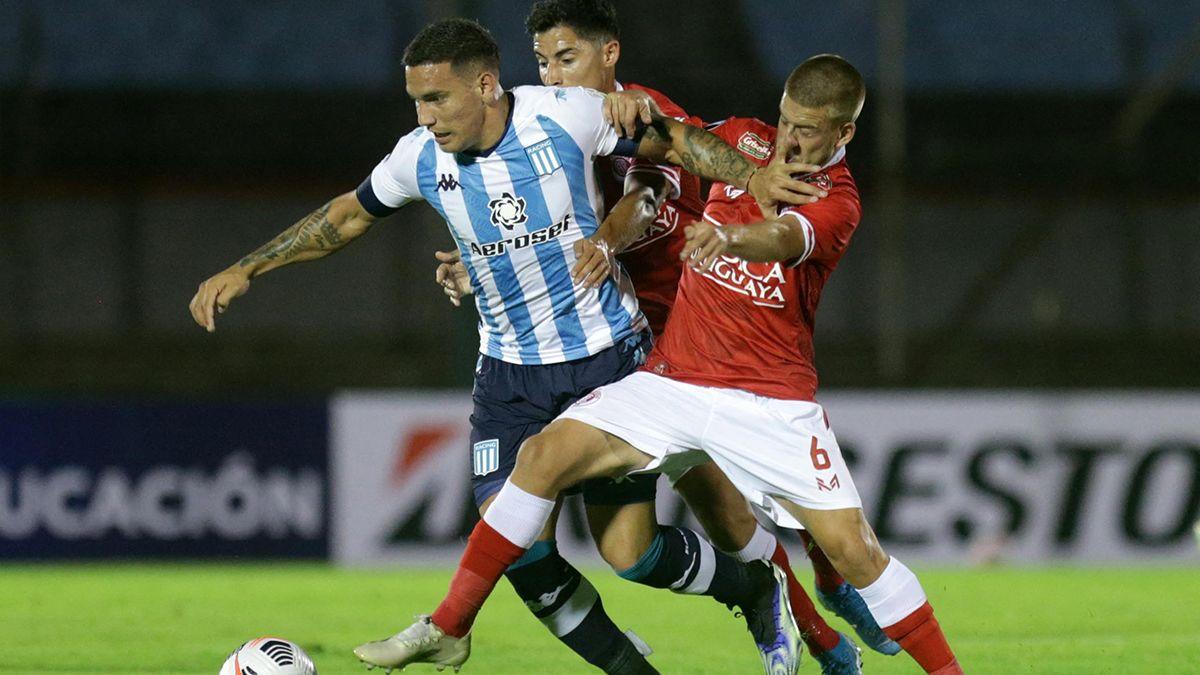 Copa Libertadores: Racing empató en Uruguay. Foto: diariopanorama.com