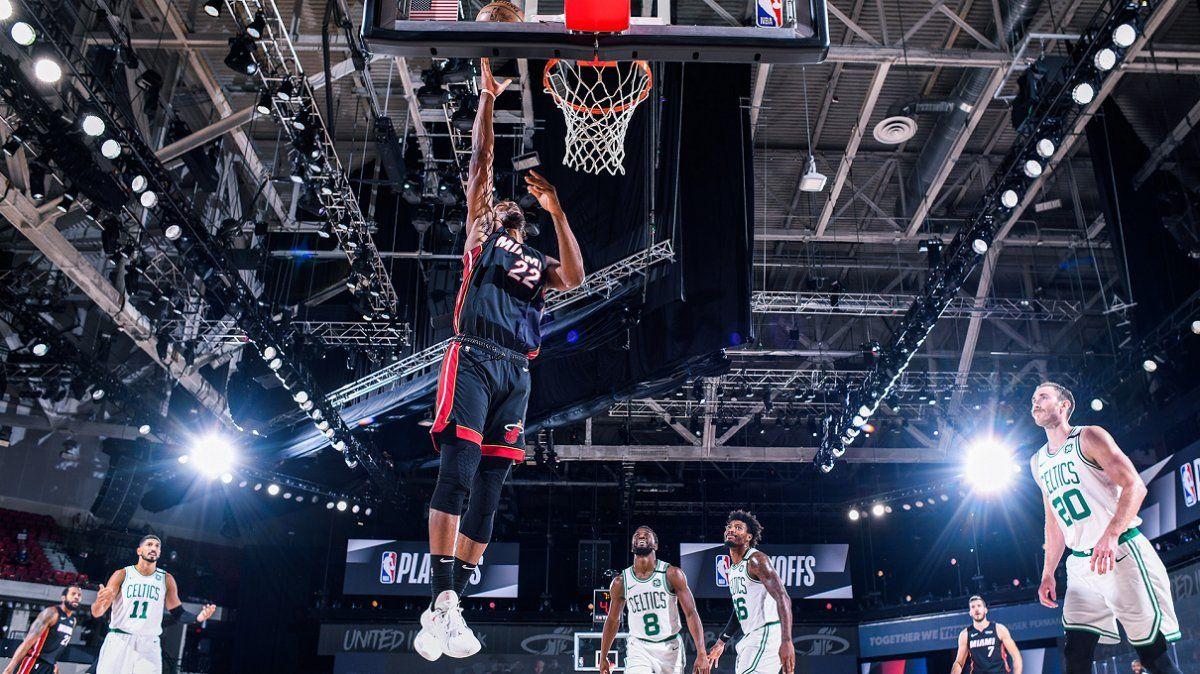 Miami liquidó a Boston y definirá la NBA con los Lakers