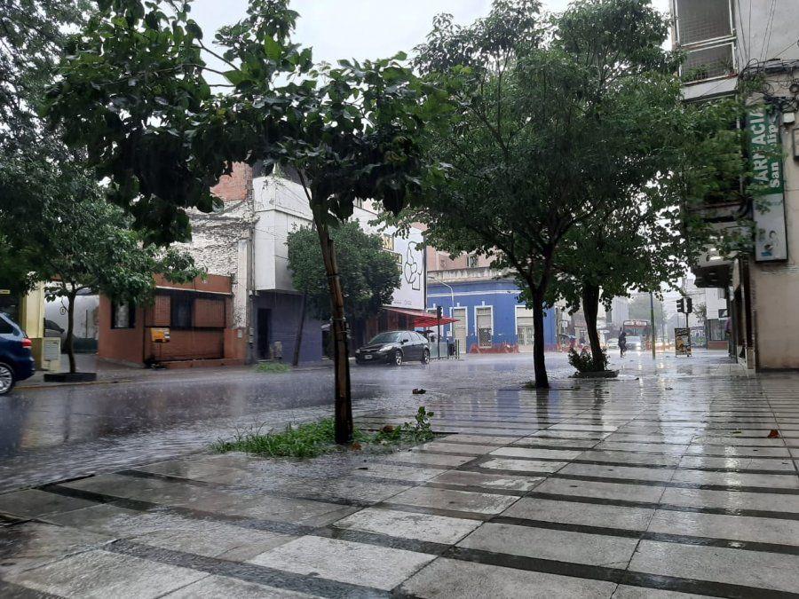 La Primavera inicia con precipitaciones a la provincia.