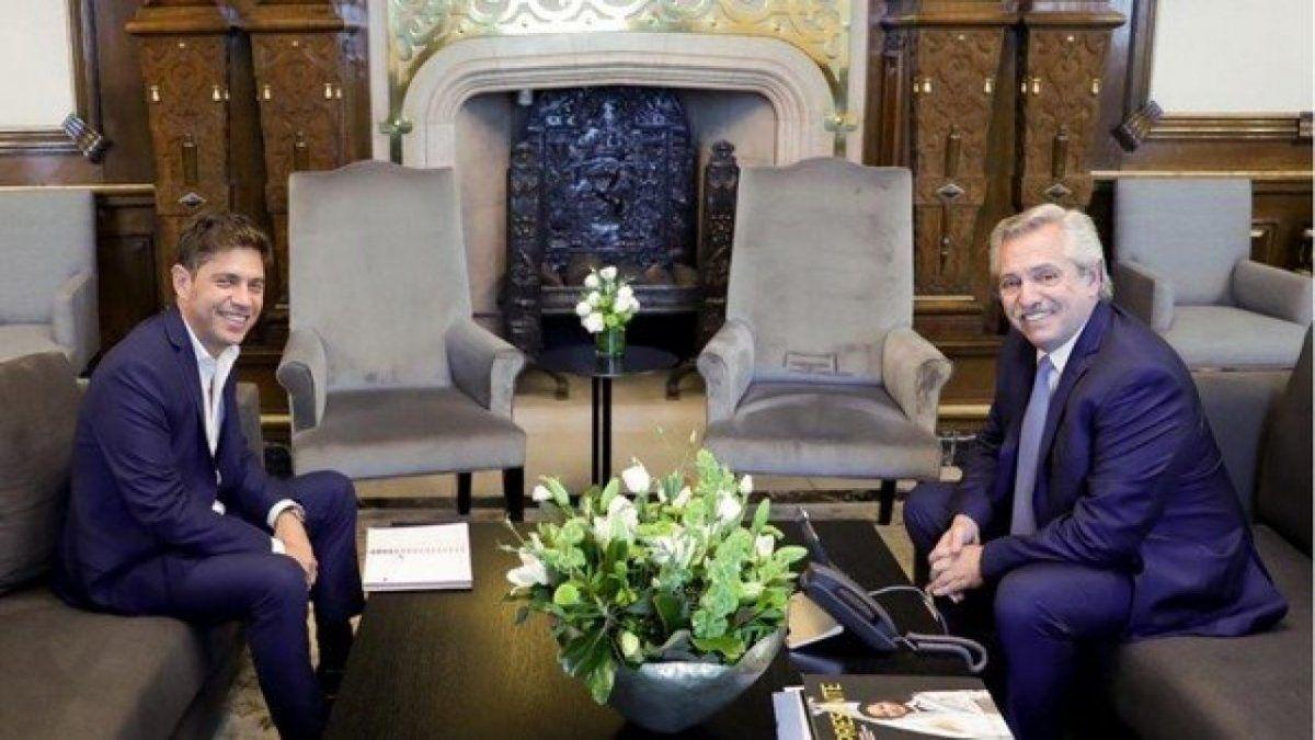 Kicillof acordó con Alberto Fernández y Martín Guzmán la renegociación de la deuda