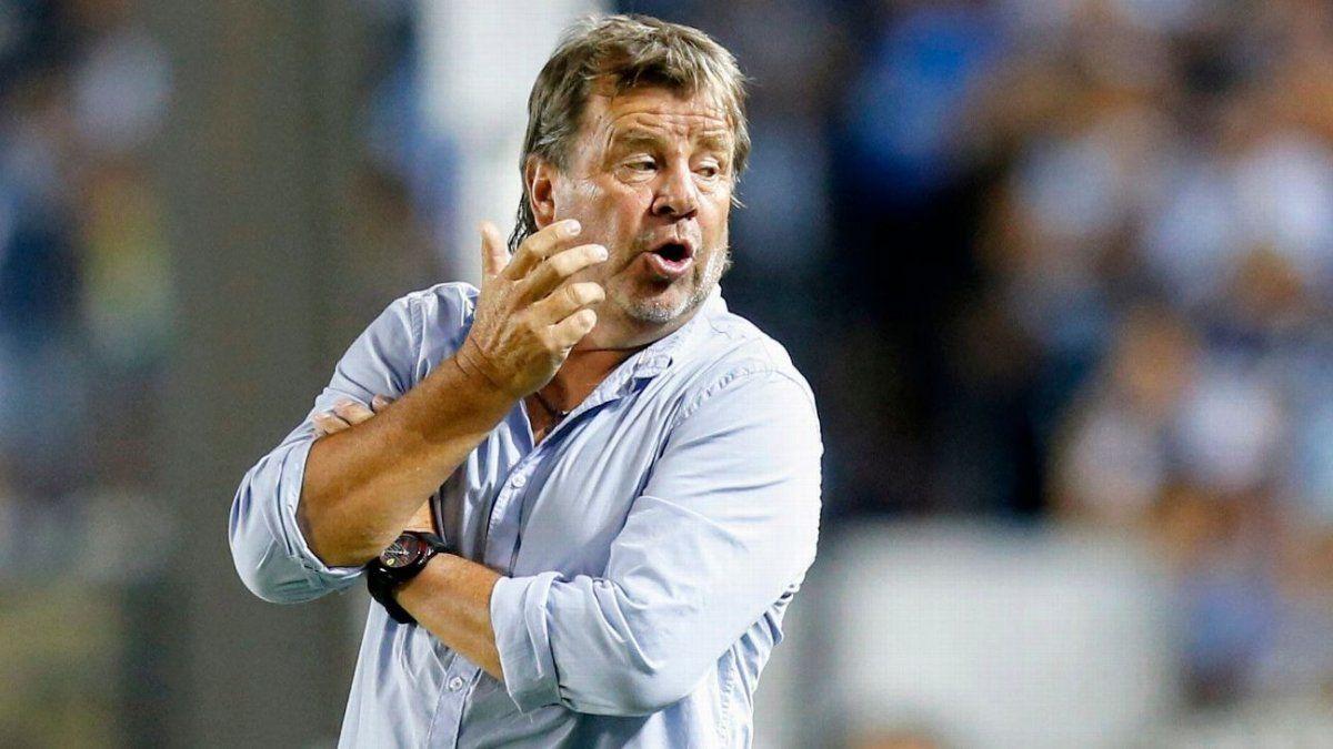 Ricardo Zielinski es entrenador de Atlético.