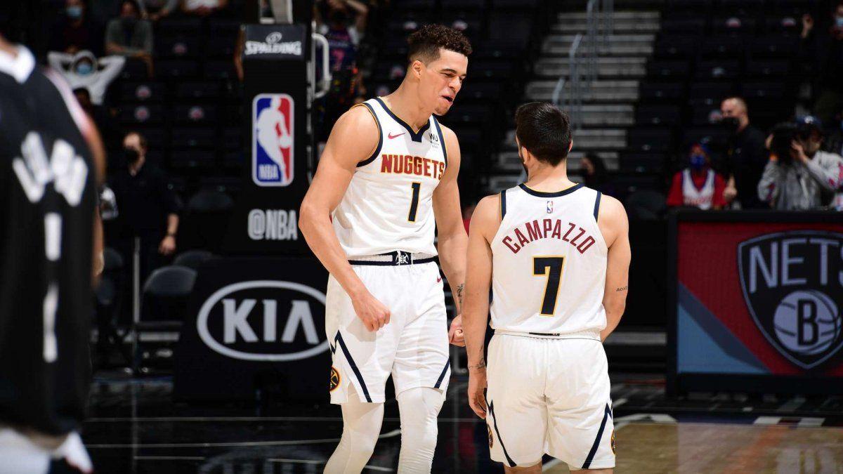 Campazzo volvió a brillar en la NBA.