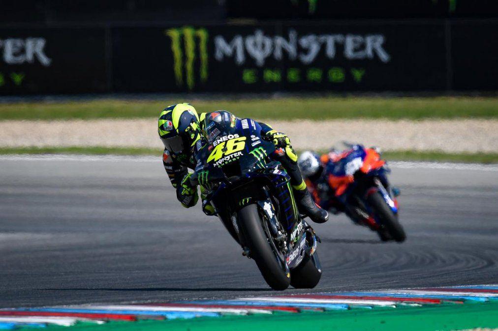 Moto GP: Valentino Rossi se salvó de milagro en Austria