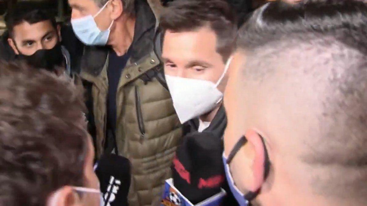 Messi y una furia inédita al arribar a Barcelona