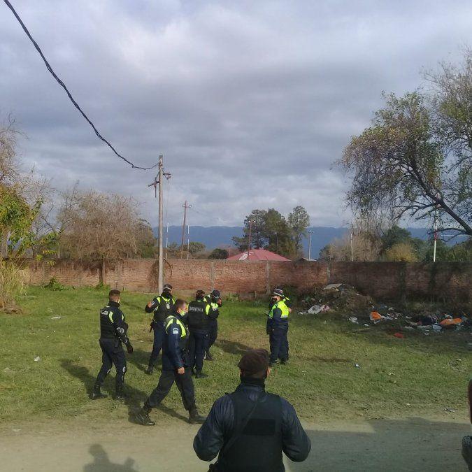 San José: Desactivaron un intento de usurpación