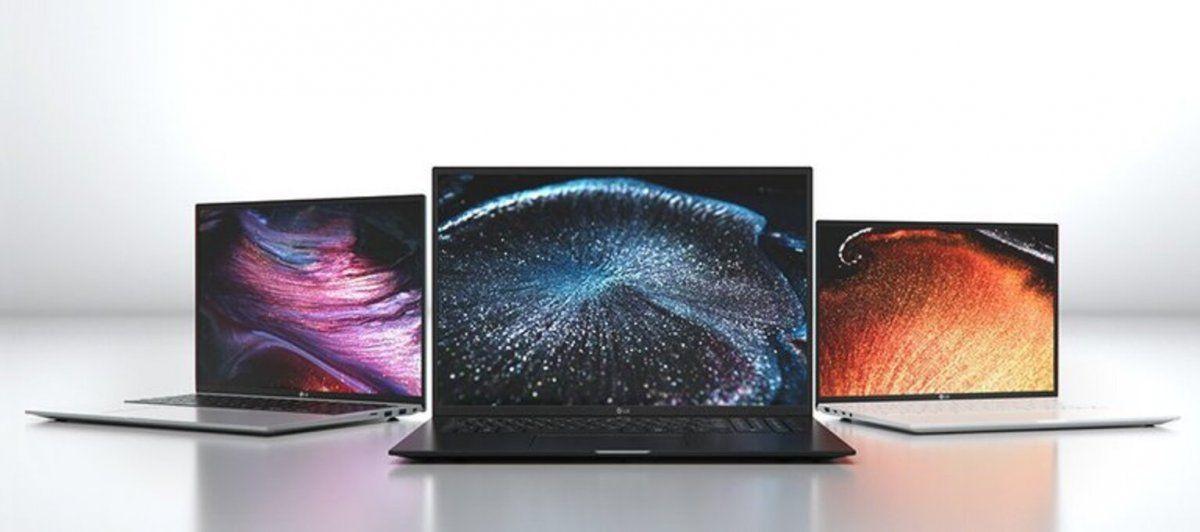 LG presentó sus nuevas laptops en la CES 2021