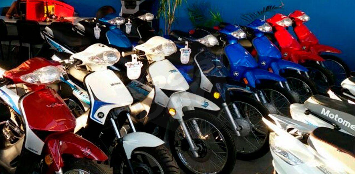 Patentamiento de motos: en agosto creció un 13% mensual
