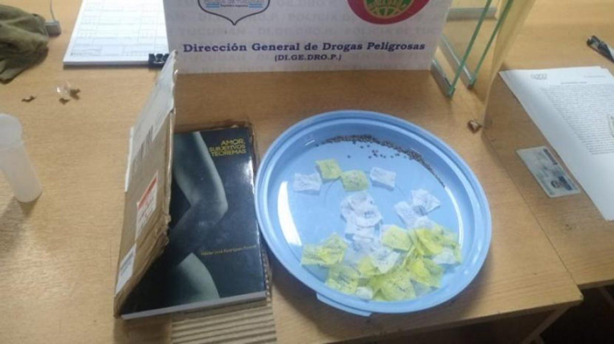 Secuestran semillas de marihuana que llegaron desde España