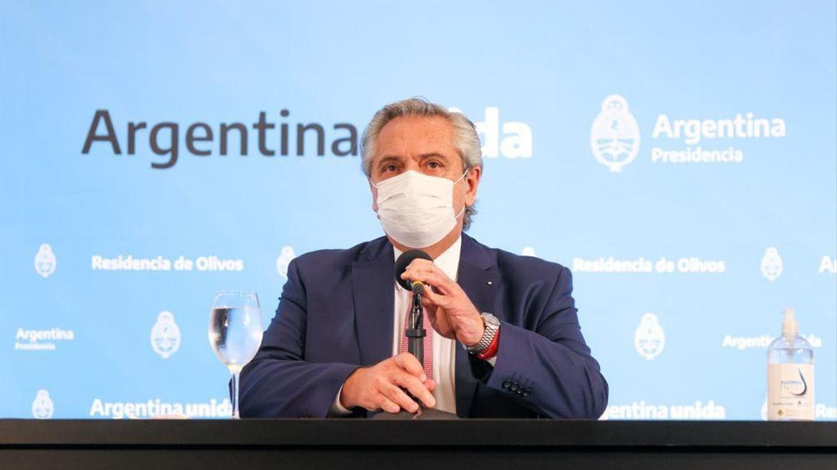 El presidente Alberto Fernández está preocupado por el hambre de los argentinos. Foto: eldiarioar.com