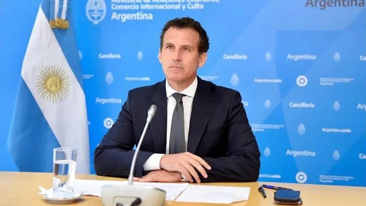 Guillermo Chaves explicó el tono del mensaje de Cancillería