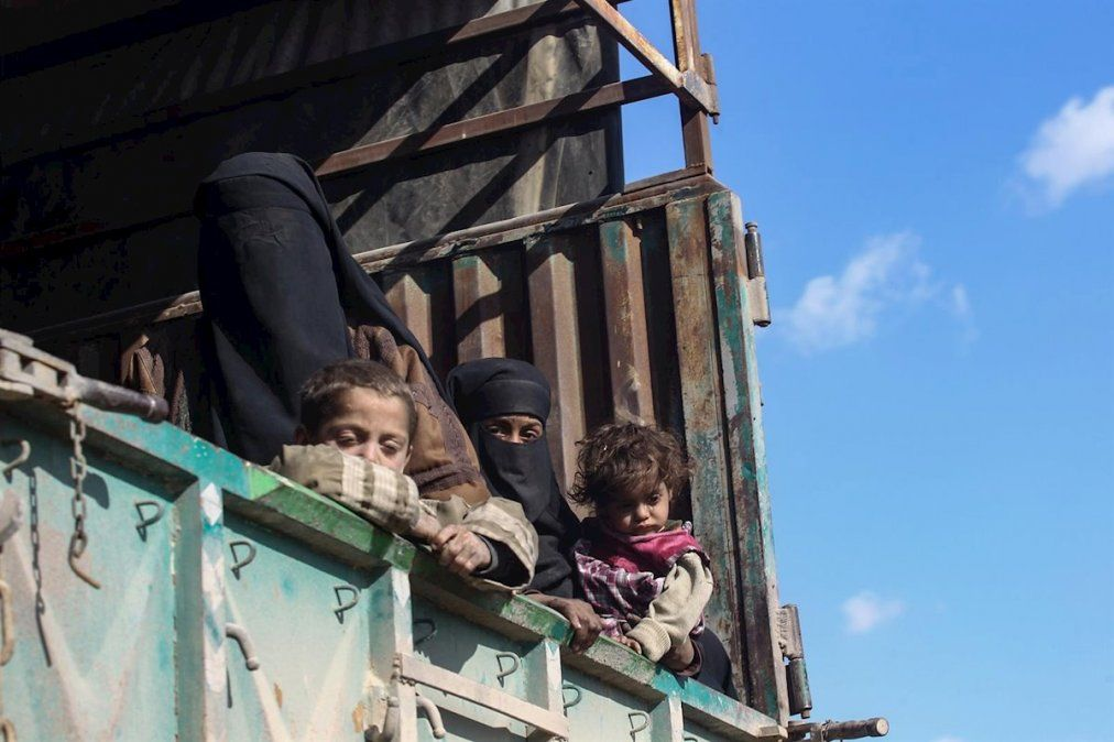 Mujeres y niños recluidos de forma inhumana en Siria e Irak