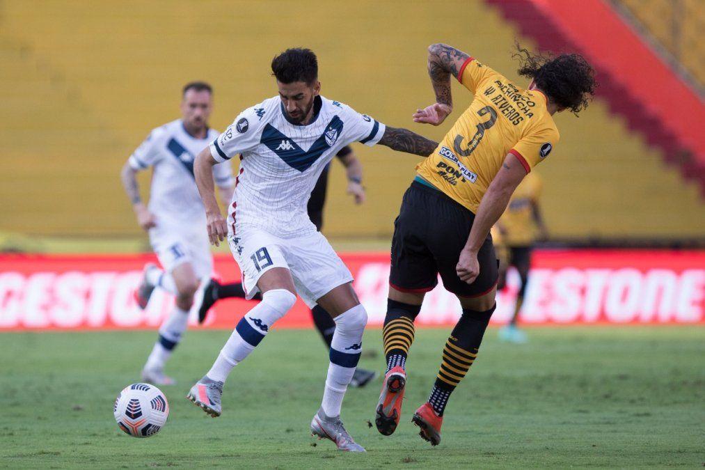 Vélez perdió en Ecuador y quedó afuera de la Libertadores