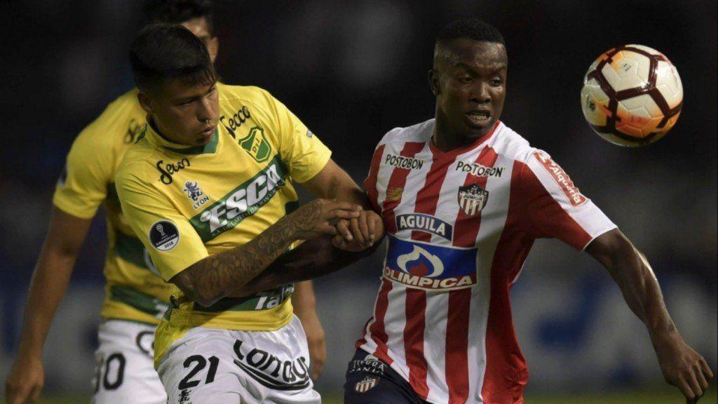 Copa Sudamericana: Defensa y Justicia cayó 2 a 0 ante Junior