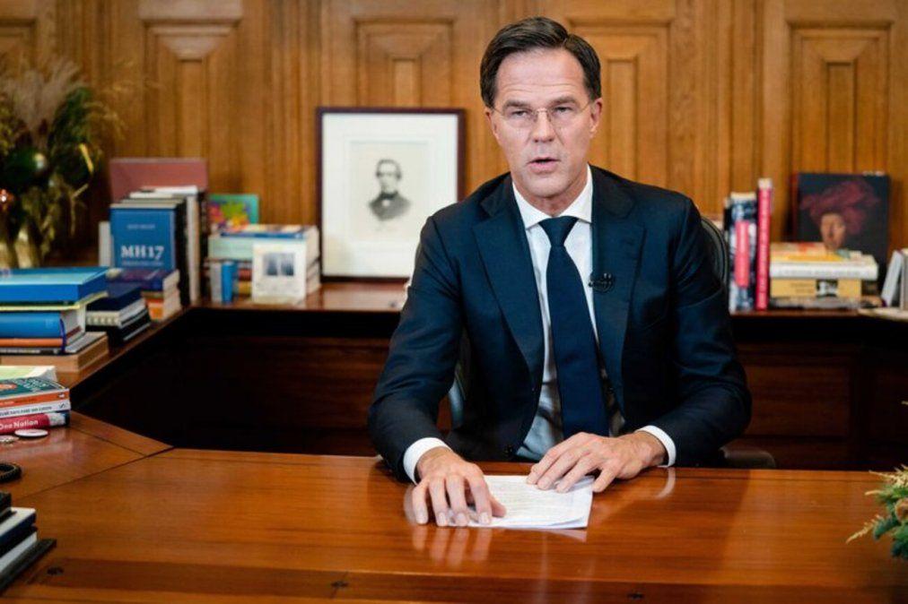 El gobierno de Mark Rutte renunció en bloque este viernes por su mala gestión de los subsidios para las familias.