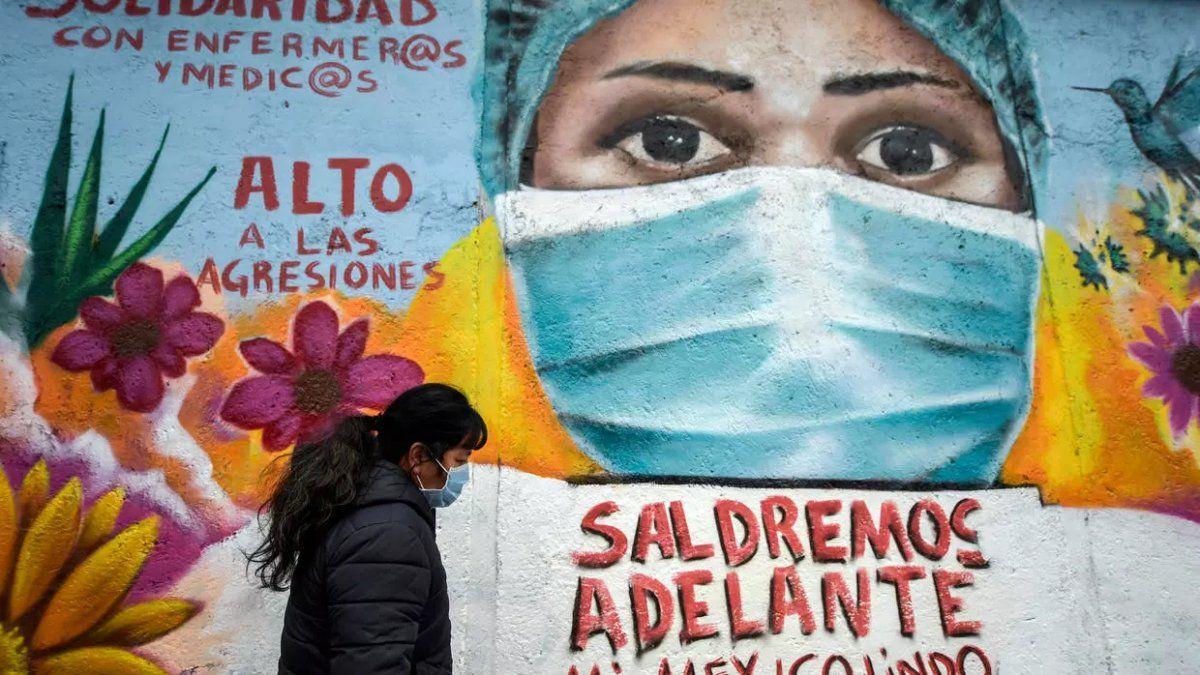 Preocupa el avance del Covid-19 en México. Foto Pedro Pardo AFP.