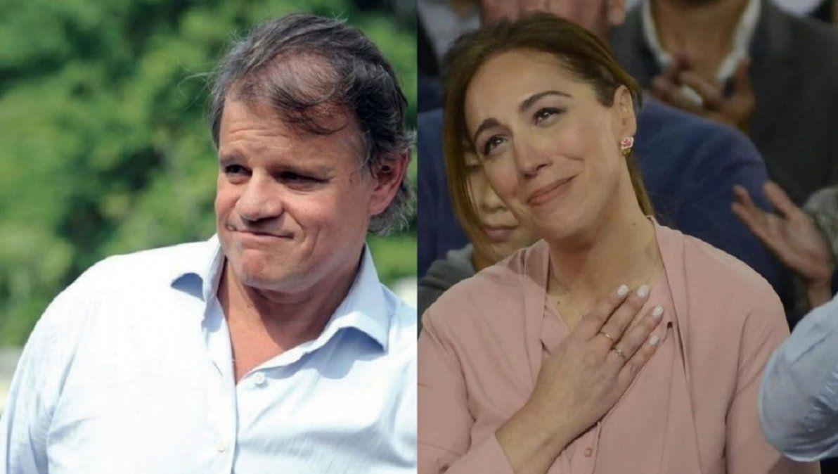 María Eugenia Vidal y Quique Sacco, cada vez más cerca