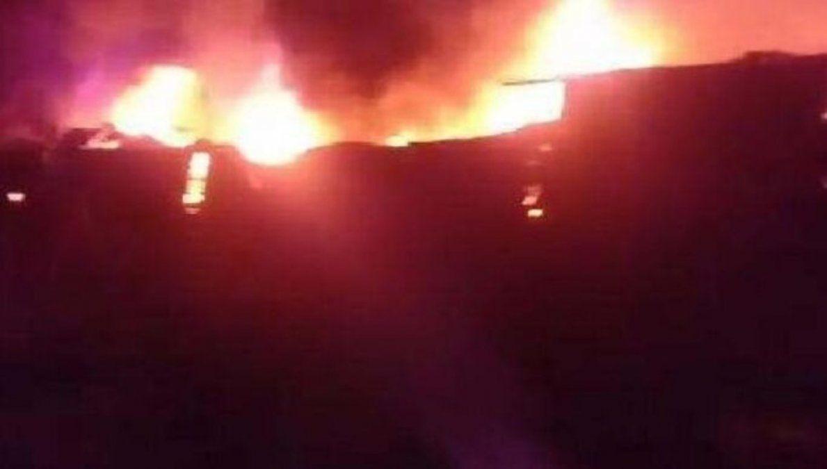 Se produjo un incendio en la Quinta Agronómica de la UNT
