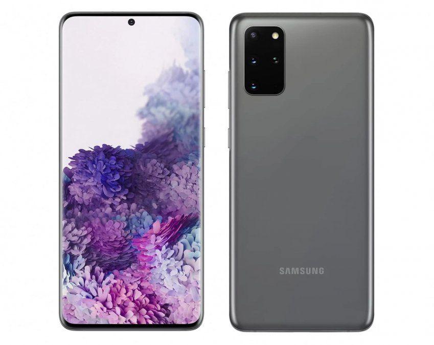 Samsung S20+: el modelo con cámara de 64 mp y pantalla gamer