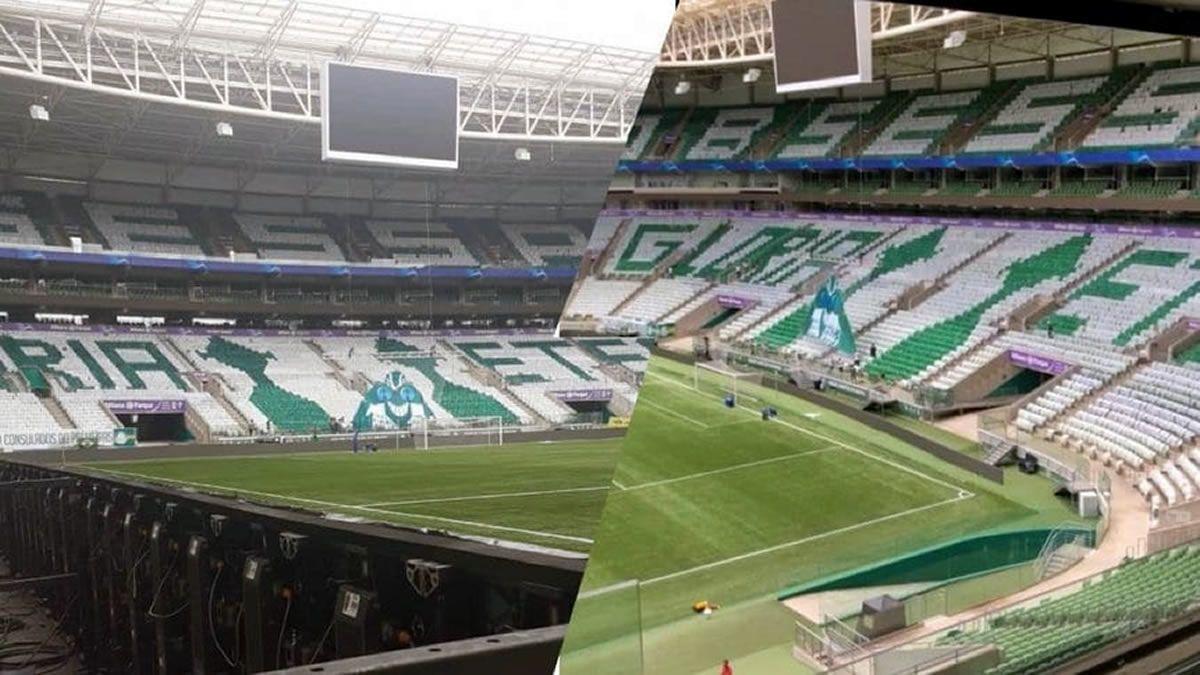 Palmeiras y una increíble muestra de fe en su estadio