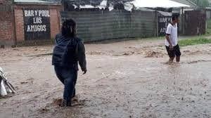 Suspensión de actividades en escuelas afectadas por el temporal