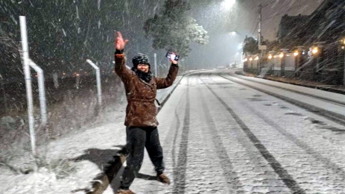 Nevó en Brasil y las temperaturas podrían ser las más bajas en 65 años