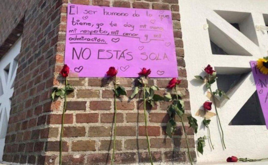 México: una maestra fue golpeada por su marido en pleno Zoom.