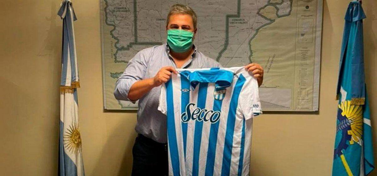Atlético se solidarizó con el pueblo chubutense por las tragedias ambientales vividas.