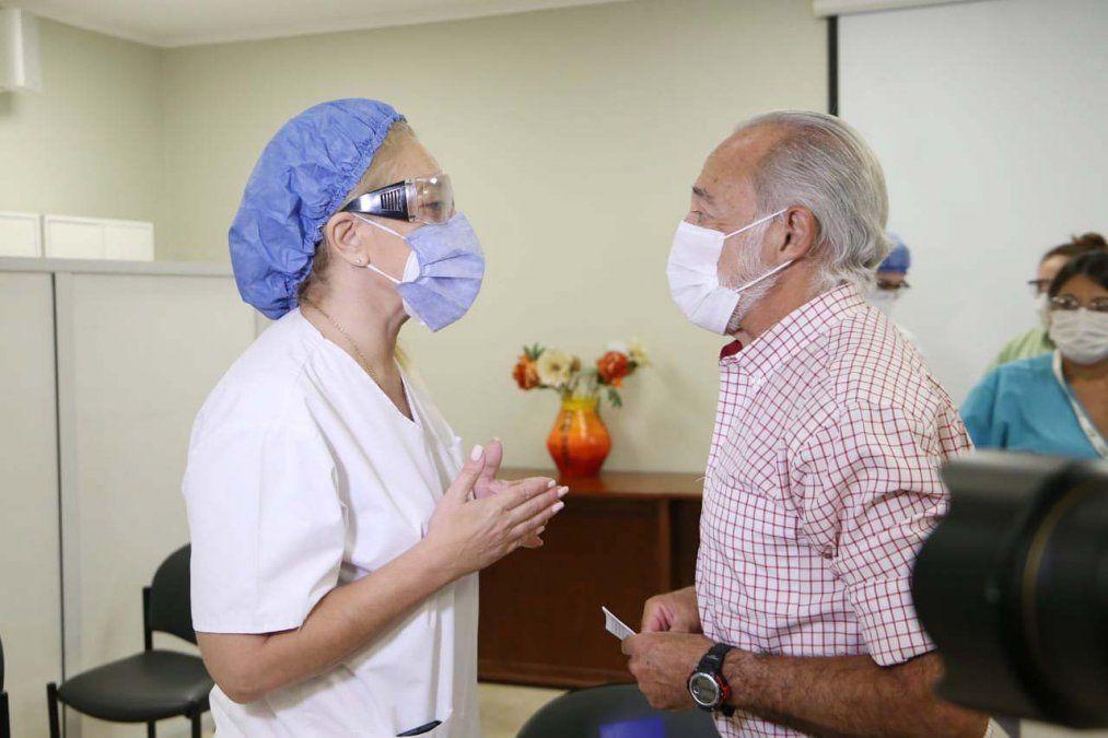 Chahla y Miroli se manifestaron con respecto a la vacunación en Tucumán.