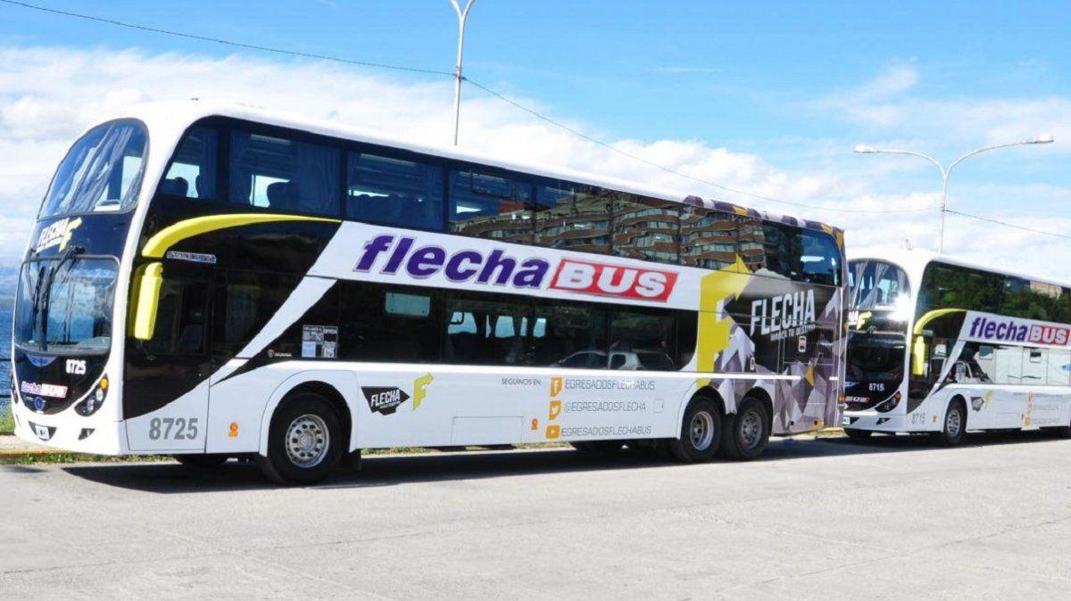 Transporte: Flecha Bus cambiará fecha de pasajes